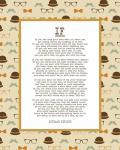 If by Rudyard Kipling - Retro Orange