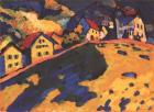 Houses on a Hill, 1909