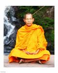 Abbot of Watkungtaphao in Phu Soidao Waterfall