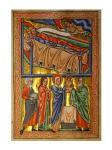 An Angel Warning the Sleeping Three Magi Not to Return to Herod
