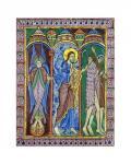 Albans Psalter: Expulsion from Paradise