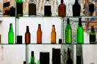 Bottles displayed at foreigner bar, Old Town, Dali, Yunnan Province, China