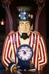 1890S 1900S 1910s Folk Art Uncle Sam Amusement Arcade