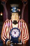 1890S 1900S 1910s Folk Art Uncle Sam Amusement Arcade