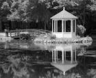 Gazebo Reflected In Pond Seaville NJ