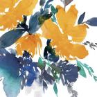 Indigo Flower I
