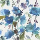 Blue Flower Garden I