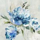 Blue Peony I