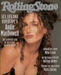 Andie MacDowell, 1989 Rolling Stone Cover