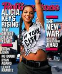 Alicia Keys, 2001 Rolling Stone Cover