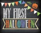 First Halloween Photo Prop