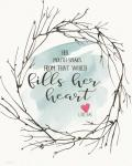 Fills Her Heart