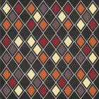 Autumn Harvest Diamond Pattern