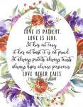 1 Corinthians 13 4, 7-8
