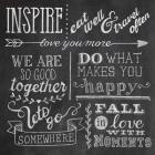 Inspiration Chalkboard III