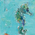 Little Seahorse Blue
