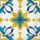 Andalucia Tiles D Blue and Yellow