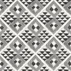 African Wild Pattern II BW
