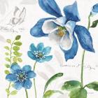 Blue and Green Garden III