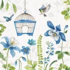 Blue and Green Garden IV