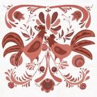 Americana Roosters II Red