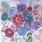 Floral Jewels I