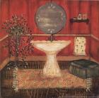 Bath in Red I