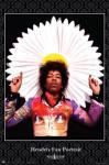 Jimi Hendrix Fan Portrait
