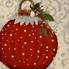 Red Ornament I