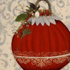 Red Ornament II