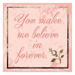 Believe In Forever   Obraz na stenu