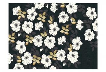1613 Flora Noir Floral Repeat | Obraz na stenu