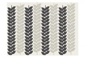 1613 Flora Noir Leaves | Obraz na stenu