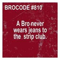 Bro Code 810 | Obraz na stenu