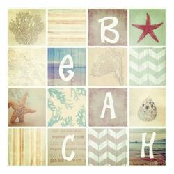 16 Patch Beach | Obraz na stenu