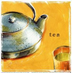 Green Leaf Tea | Obraz na stenu