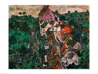 Landscape at Krumau | Obraz na stenu