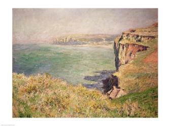 Cliff at Varengeville, 1882 | Obraz na stenu