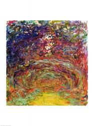 The Rose Path at Giverny, 1920-22 | Obraz na stenu