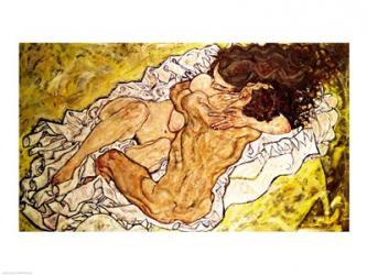 The Embrace, 1917   Obraz na stenu