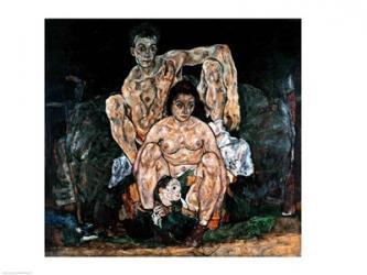 The Family, 1918 | Obraz na stenu