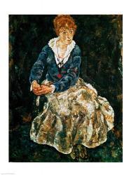 The Artist's wife seated | Obraz na stenu
