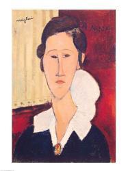 Portrait of Madame Hanka Zborowska, 1917 | Obraz na stenu