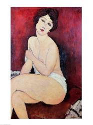 Large Seated Nude | Obraz na stenu