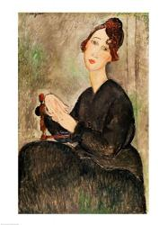 Portrait of Dedie Hayden, 1918 | Obraz na stenu
