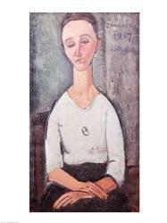 Portrait of Madame Chakowska, 1917 | Obraz na stenu