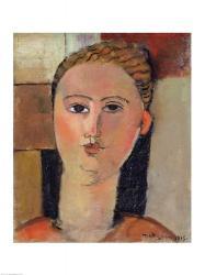 Girl with red hair, 1915 | Obraz na stenu