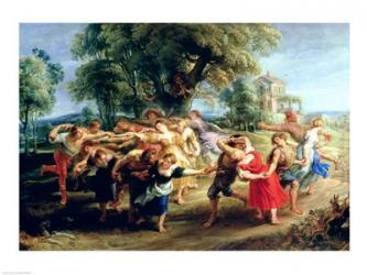 A Peasant Dance | Obraz na stenu