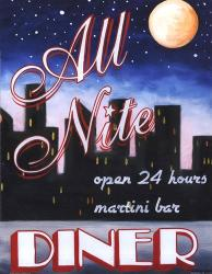 All Nite Diner | Obraz na stenu