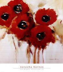 Crimson Poppies II | Obraz na stenu